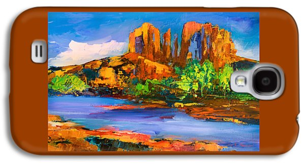 Cathedral Rock Afternoon Galaxy S4 Case by Elise Palmigiani