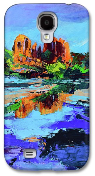 Cathedral Rock - Sedona Galaxy S4 Case by Elise Palmigiani