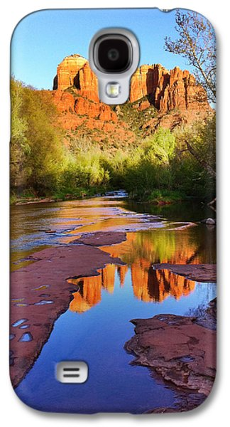 Cathedral Rock Photographs Galaxy S4 Cases - Cathedral Rock Sedona Galaxy S4 Case by Matt Suess