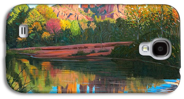 Cathedral Rock - Sedona Galaxy S4 Case by Steve Simon