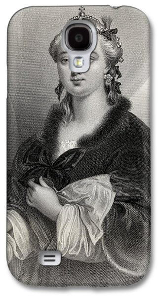 Catherine II, Catherine The Great Galaxy S4 Case by Vintage Design Pics