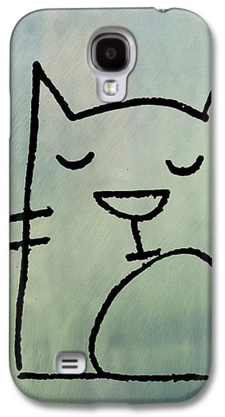 Catnap Galaxy S4 Case by Bill Cannon