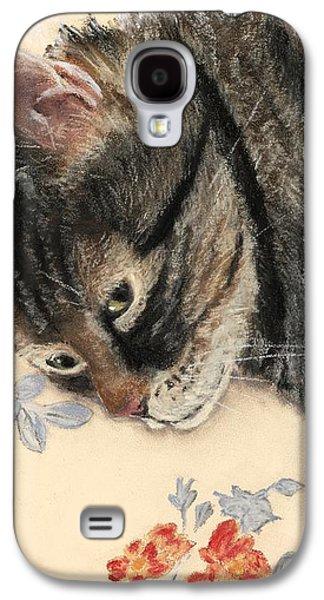 Cattitude Galaxy S4 Case by Anastasiya Malakhova