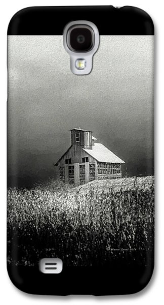 Cattle Feed For The Winter Galaxy S4 Case by Marvin Spates