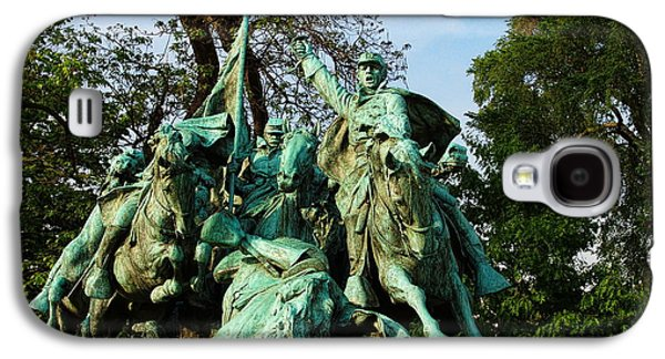 Cavalry Charge - Ulysses S. Grant Memorial Galaxy S4 Case by Glenn McCarthy