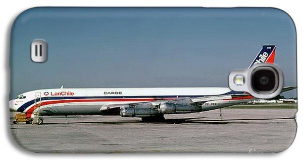 Cc-ceb, Boeing 707-385c, Lan Chile Cargo, Jt3d-3b S2, Jt3d Galaxy S4 Case by Wernher Krutein
