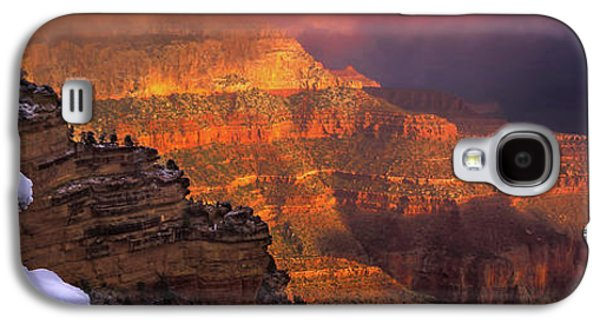 Canyon Dawn Galaxy S4 Case by Mikes Nature