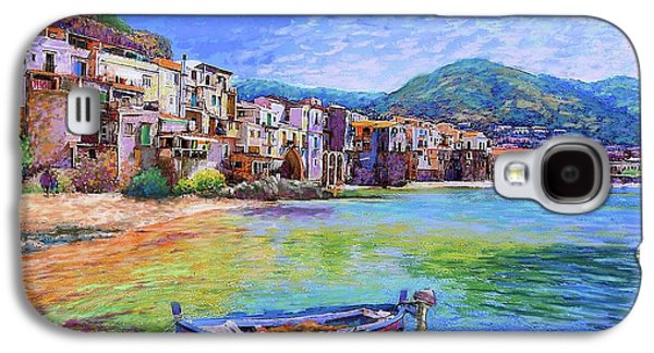 Town Galaxy S4 Case - Cefalu Sicily Italy by Jane Small