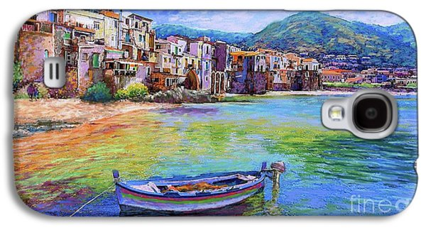 Old Town Galaxy S4 Case - Cefalu Sicily Italy by Jane Small