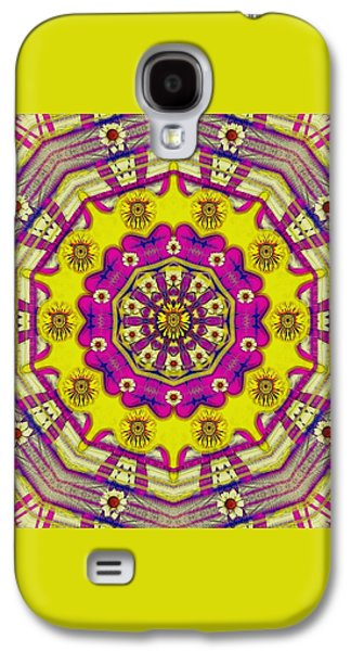 Celebrating Summer In Soul And Mind Mandala Style. Galaxy S4 Case by Pepita Selles