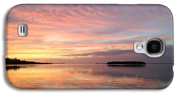 Celebrating Sunset In Key Largo Galaxy S4 Case