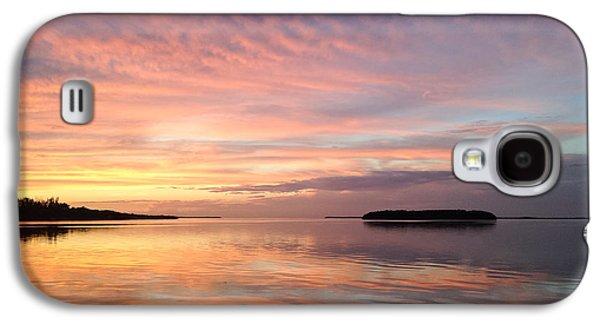 Celebrating Sunset In Key Largo Galaxy S4 Case