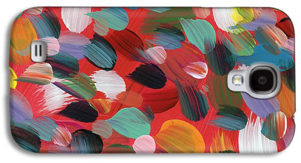 Celebration Day- Art By Linda Woods Galaxy S4 Case by Linda Woods