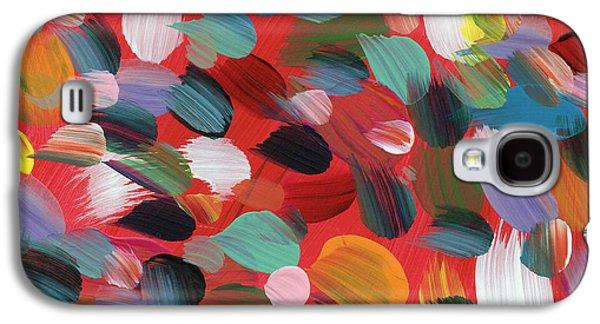 Celebration Day- Art By Linda Woods Galaxy S4 Case