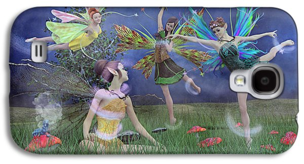 Celebration Of Night Alice And Oz Galaxy S4 Case by Betsy Knapp