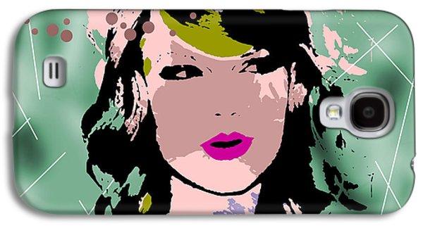 Celebrity Portrait #2 - Taylor Swift Galaxy S4 Case