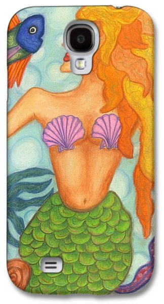 Animals Jewelry Galaxy S4 Cases - Celeste the Mermaid Galaxy S4 Case by Norma Gafford