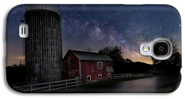 Galaxy S4 Case featuring the photograph Celestial Farm by Bill Wakeley