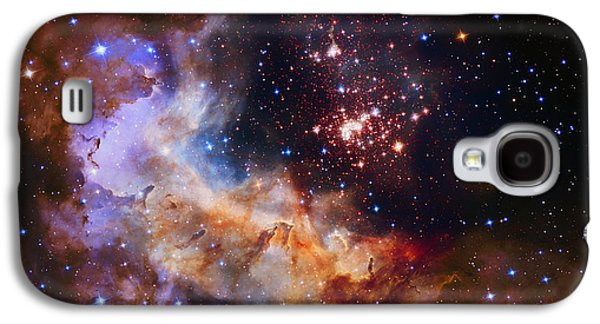Celestial Fireworks Galaxy S4 Case by Mountain Dreams