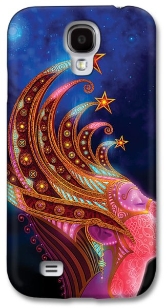 Philip Straub Galaxy S4 Cases - Celestial Queen Galaxy S4 Case by Philip Straub