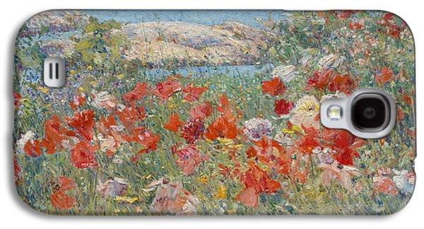 Celia Thaxter's Garden, Isles Of Shoals, Maine, 1890 Galaxy S4 Case by Childe Hassam
