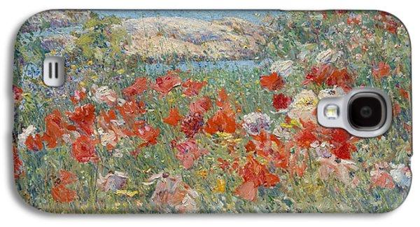 Celia Thaxter's Garden, Isles Of Shoals, Maine Galaxy S4 Case by Childe Hassam