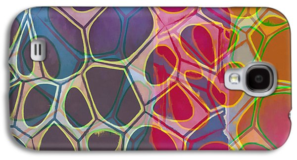 Galaxy S4 Case - Cell Abstract 11 by Edward Fielding