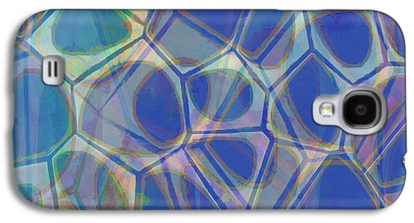 Galaxy S4 Case - Cell Abstract One by Edward Fielding