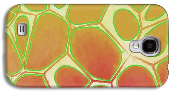 Cells Abstract Five Galaxy S4 Case