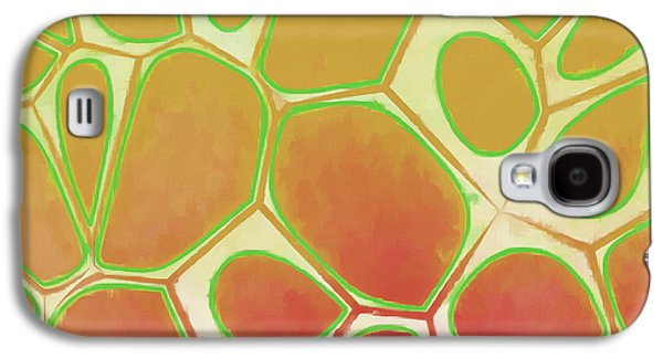 Galaxy S4 Case - Cells Abstract Five by Edward Fielding