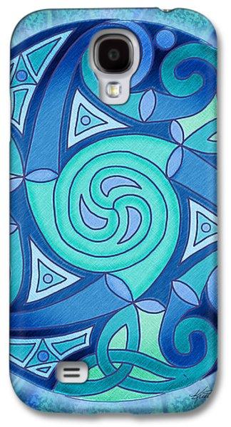 Celtic Planet Galaxy S4 Case by Kristen Fox