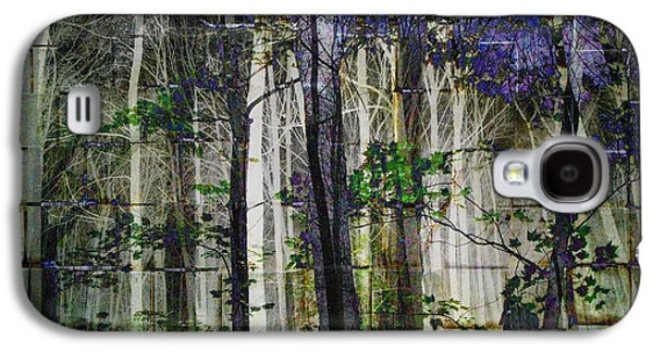 Cement Forest 2 Galaxy S4 Case by Elizabeth McTaggart