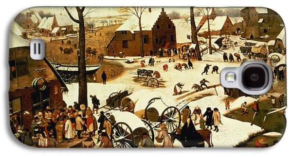 Census At Bethlehem Galaxy S4 Case by Pieter the Elder Bruegel
