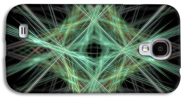 Center Of It All 2 Galaxy S4 Case by Elizabeth McTaggart