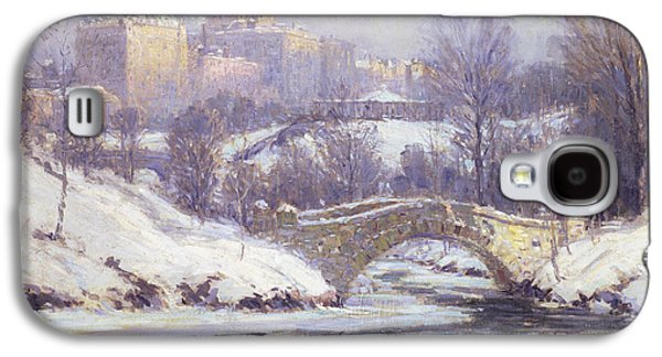 Central Park Galaxy S4 Case by Colin Campbell Cooper