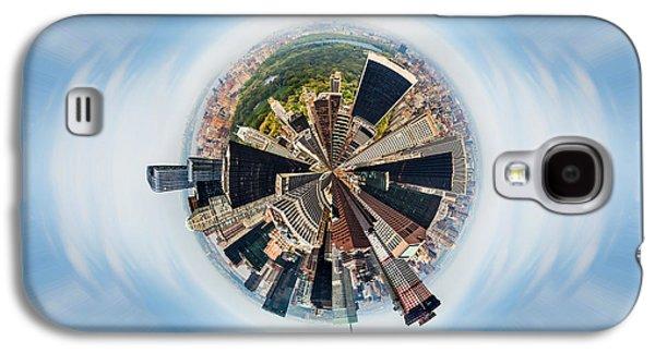 Eye Of New York Galaxy S4 Case by Az Jackson