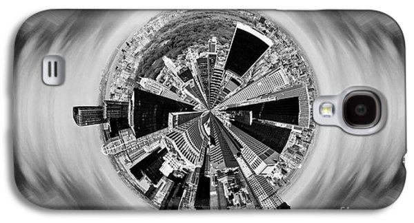 Central Park View Bw Galaxy S4 Case by Az Jackson