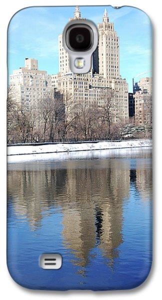 Central Park West Bldg El Dorado Galaxy S4 Case by Marilu Windvand