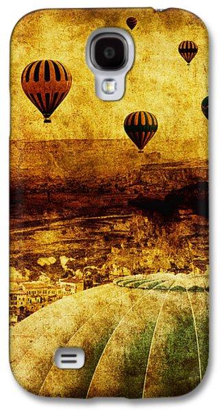 Worn Galaxy S4 Cases - Cerebral Hemisphere Galaxy S4 Case by Andrew Paranavitana
