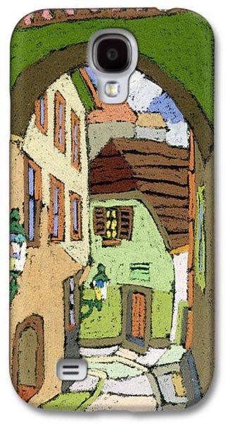 Cesky Krumlov Masna Street Galaxy S4 Case