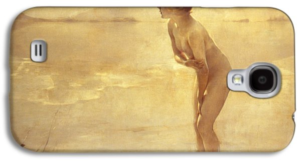 Nudes Galaxy S4 Case - Chabas, September Morn by Paul Chabas