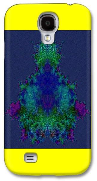 Chakras Fractal Galaxy S4 Case