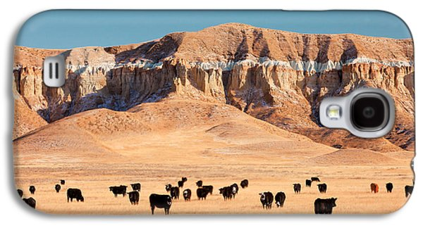 Chalk Cliffs Galaxy S4 Case by Todd Klassy