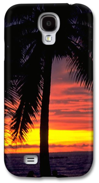 Champagne Sunset Galaxy S4 Case