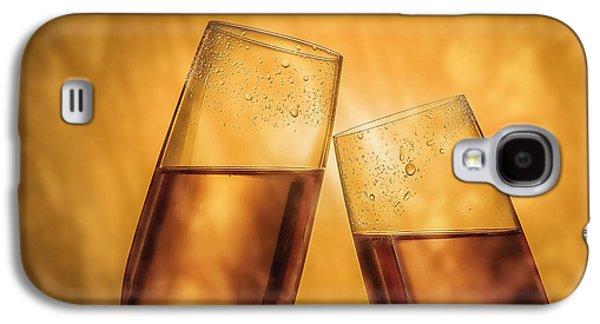 Champagne Toast Galaxy S4 Case by Tom Mc Nemar
