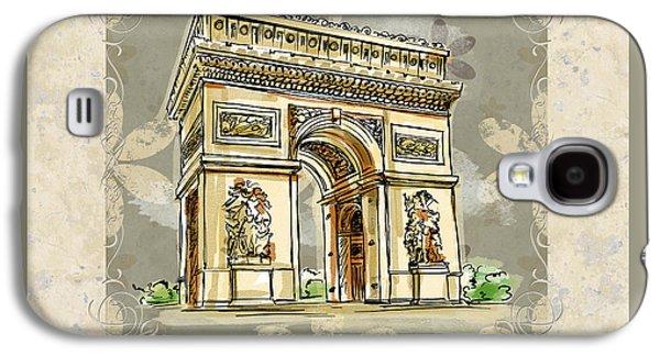 Champs Elysees Paris Galaxy S4 Case