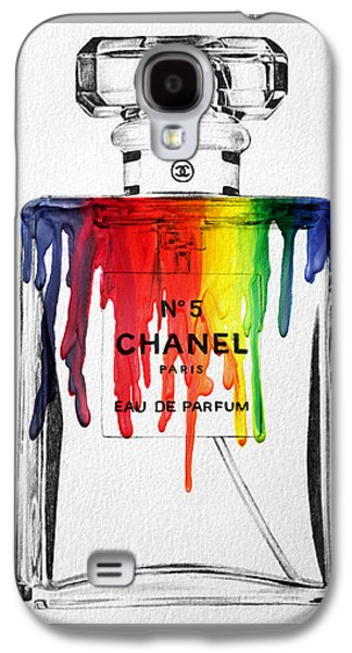 Abstract Movement Galaxy S4 Case - Chanel  by Mark Ashkenazi