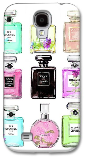 Chanel Perfume Set 9er Galaxy S4 Case