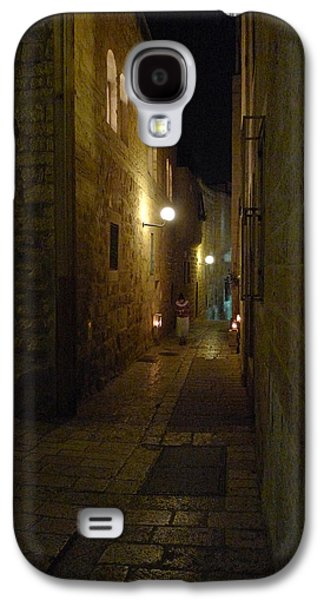 Galaxy S4 Case featuring the photograph Chanukah At The Old City Of Jerusalem by Dubi Roman