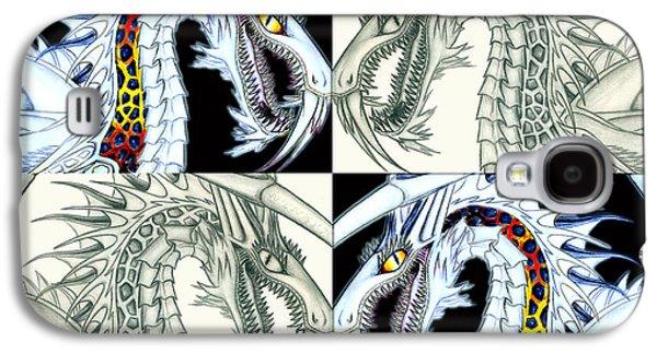 Chaos Dragon Fact Vs Fiction Galaxy S4 Case